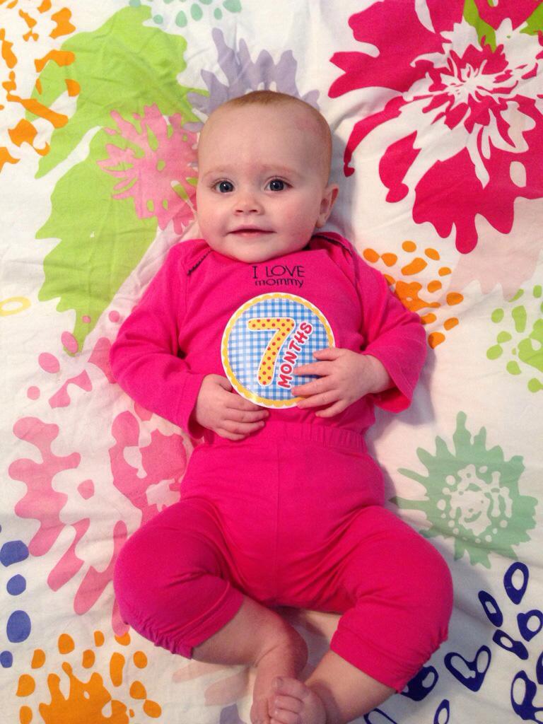 Ellie at 7 months