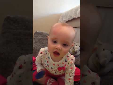 Ellie's first words [VIDEO]