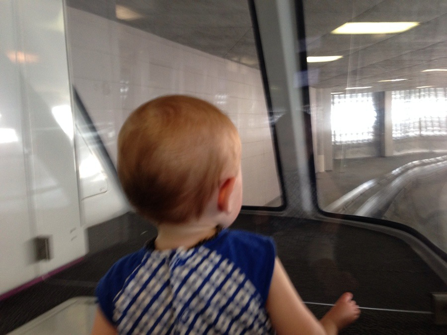 Driving the monorail
