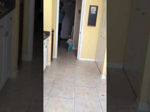 Ellie walking [VIDEO]