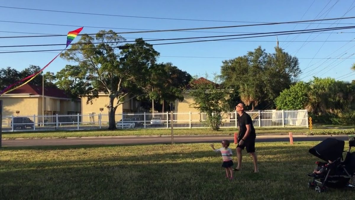 Let's go fly a kite [VIDEO]
