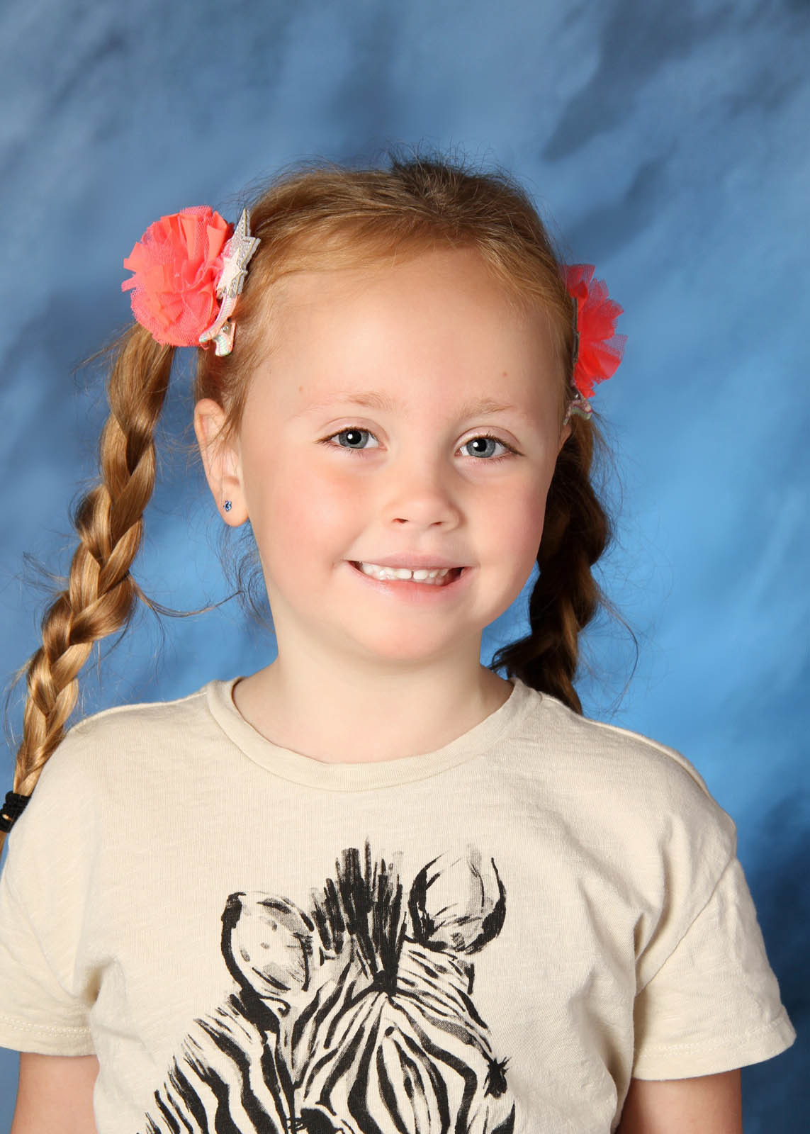 Ellie's kindergarten photo