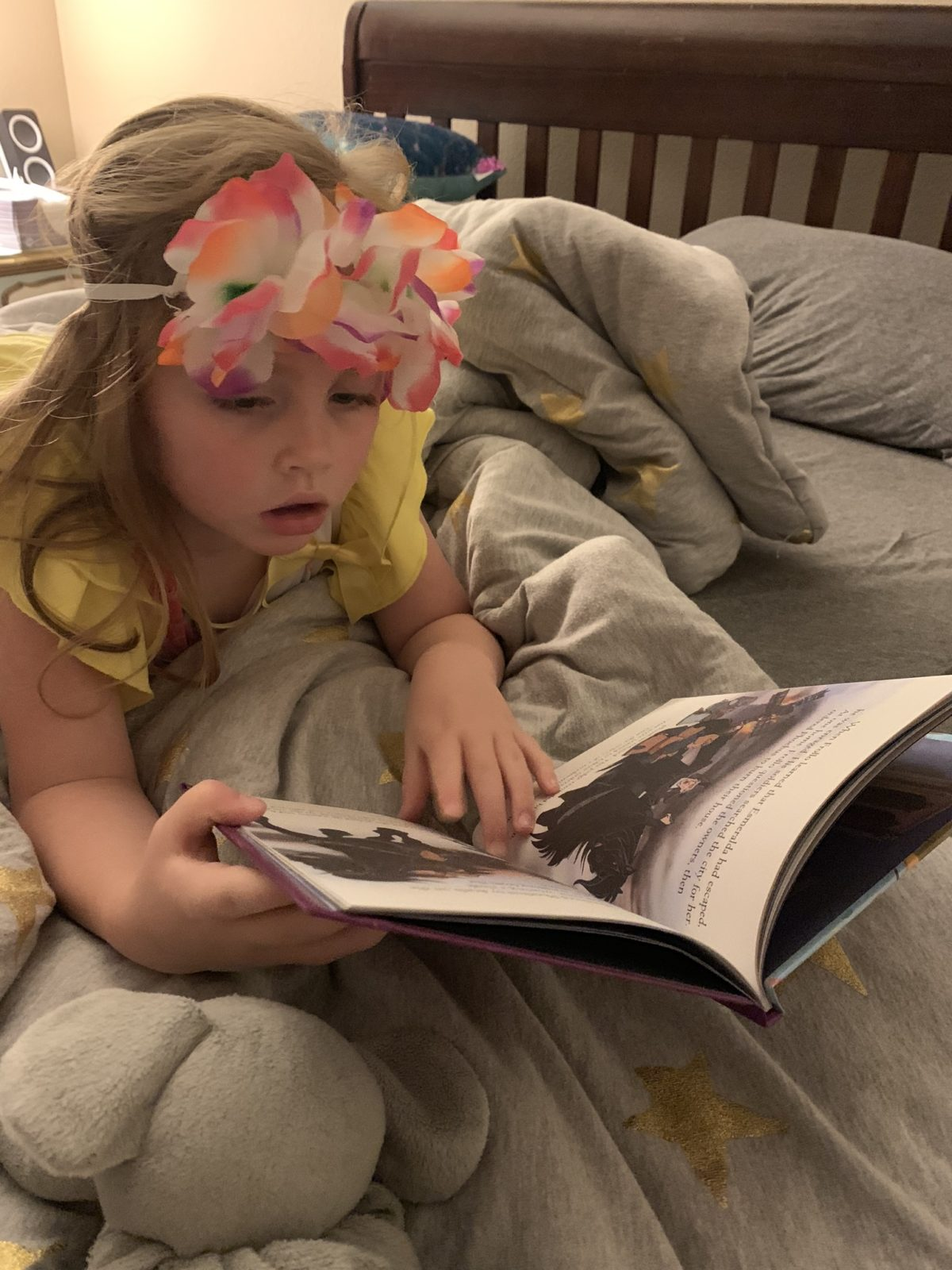 This Hawaiian princess can't get enough of reading